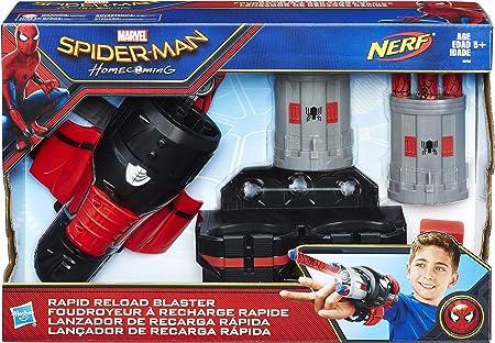 Figura de acción de Spiderman,Nuevas funciones del lanzador de proyectiles,Máxima velocidad de los d