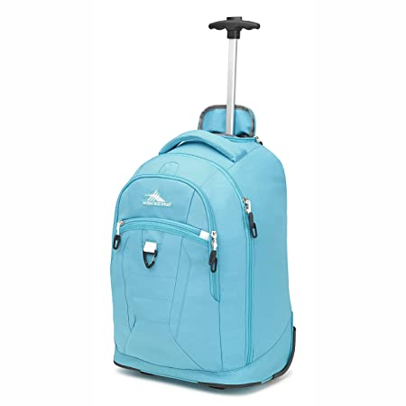 High Sierra Drydin Wheeled Backpack Tropic Teal White