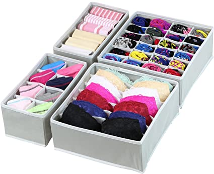 2991d663b7 Amazon.com  Simple Houseware Closet Underwear Organizer Drawer ...