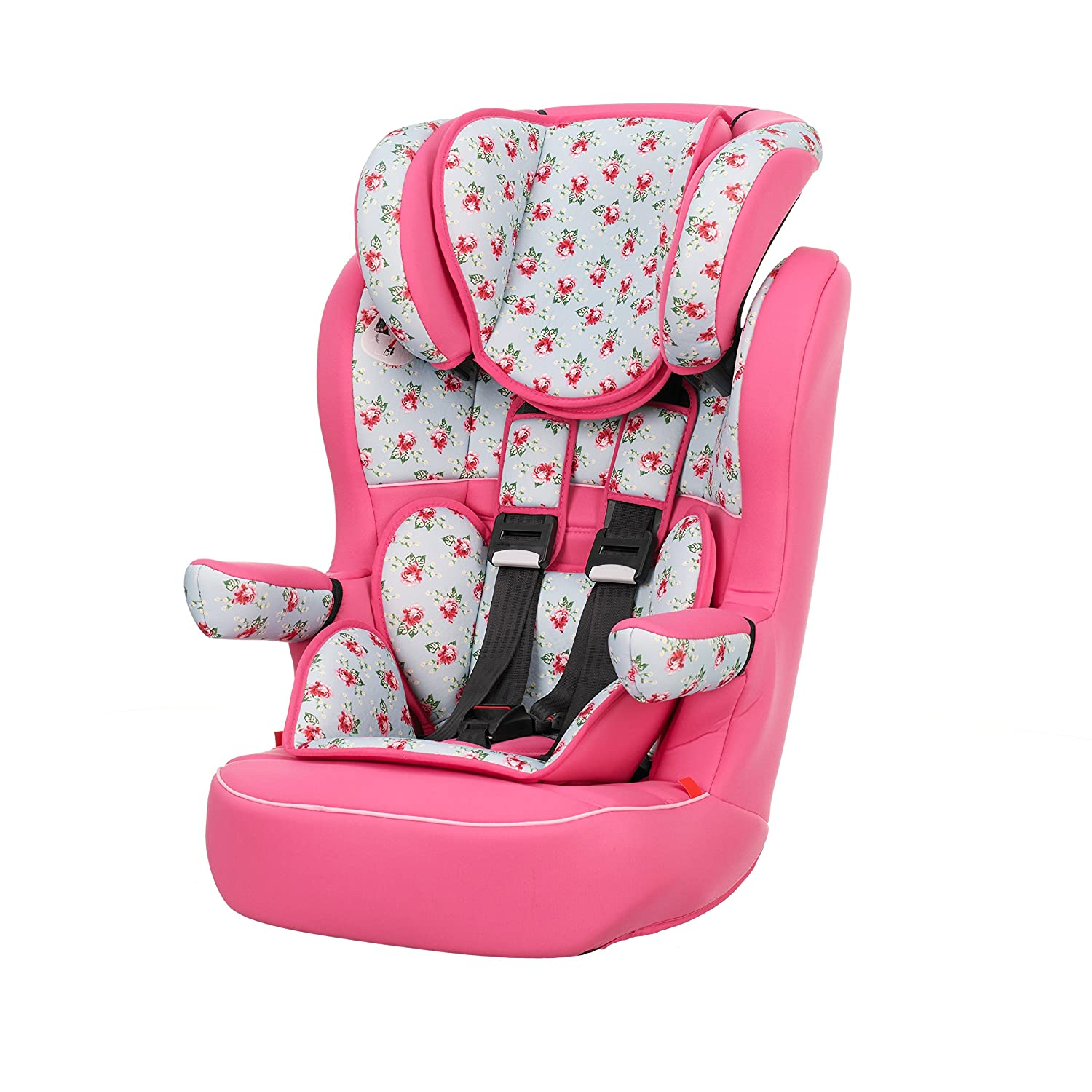 Obaby Group 1/2/3 Highback Booster Car Seat - Cottage Rose: Amazon