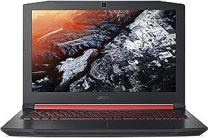 "Acer Nitro 5 Gaming Laptop, Intel Core i7-7700HQ, GeForce GTX 1050 Ti, 15.6"" Full HD, 16GB DDR4, 1TB HDD, AN515-51-75A2"