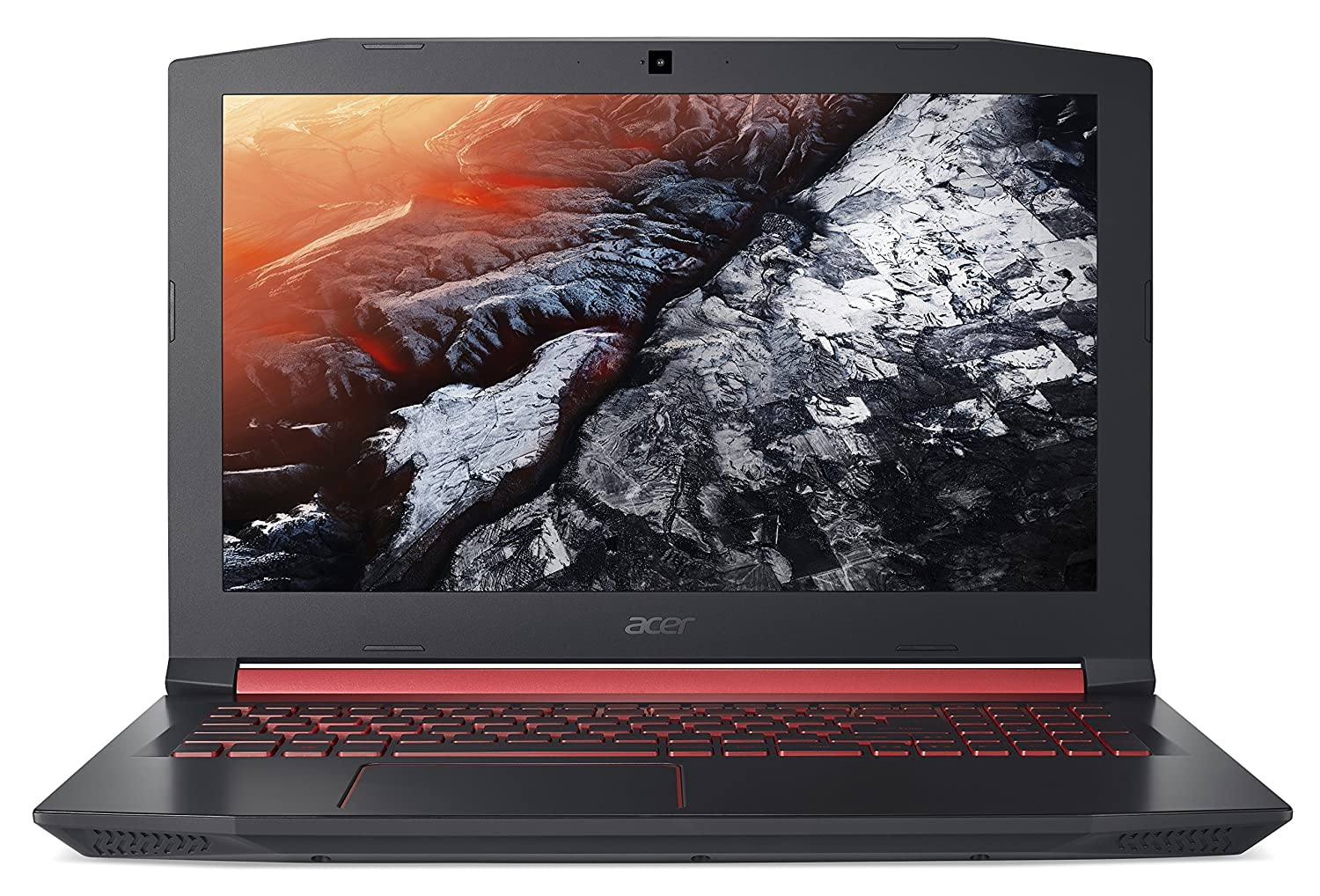 "Acer Nitro 5 Gaming Laptop, Intel Core i5-7300HQ, GeForce GTX 1050 Ti, 15.6"" Full HD, 8GB DDR4, 256GB SSD, AN515-51-55WL"