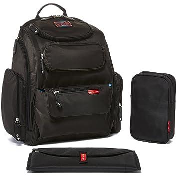 Amazon.com : Bag Nation Diaper Bag Backpack with Stroller Straps ...