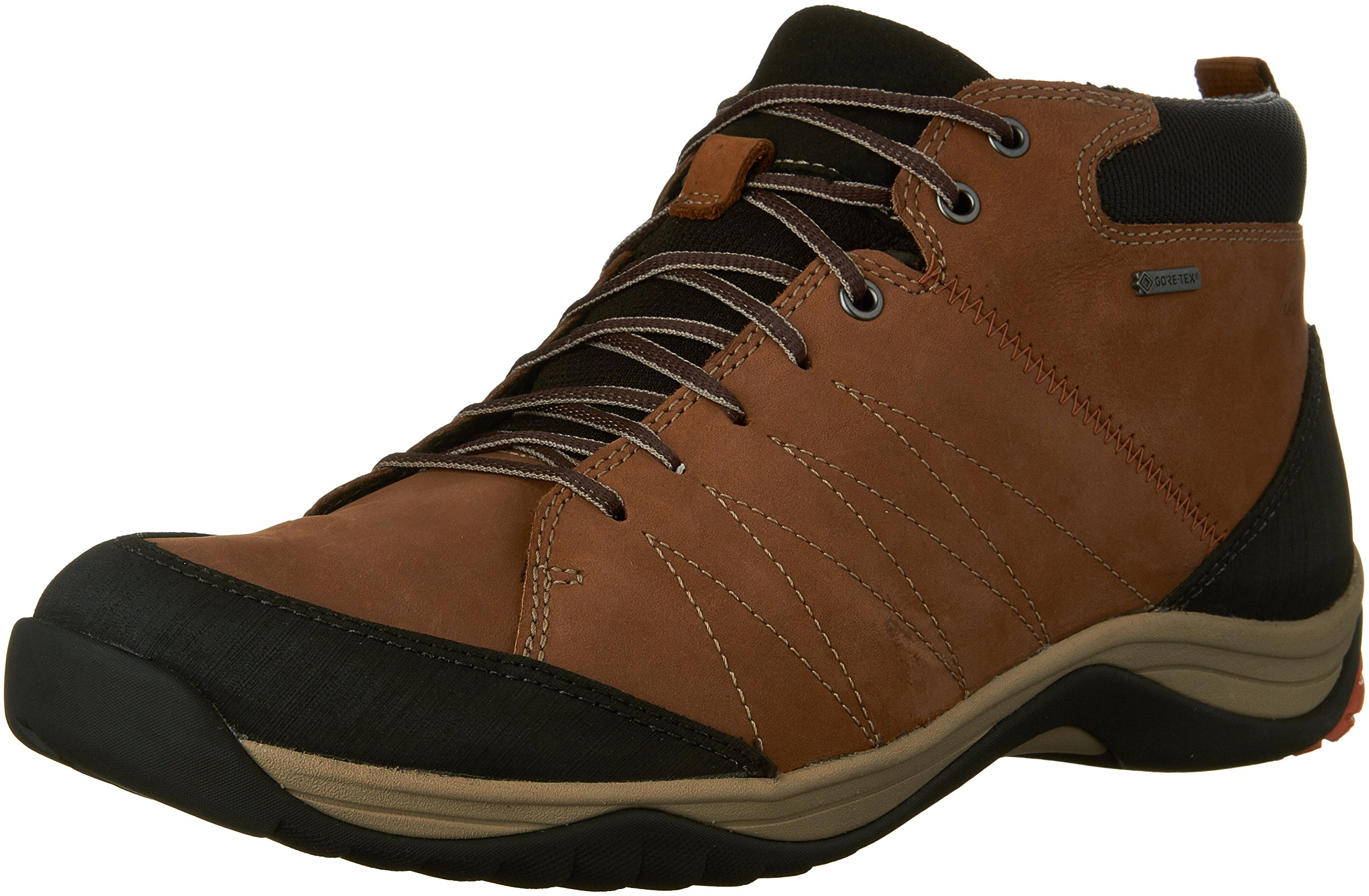 CLARKS Men's Baystone up Gore-TEX Ankle Boot,Tobacco Nubuck,US 9 M