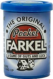 Farkel Blue Pocket Dice Game