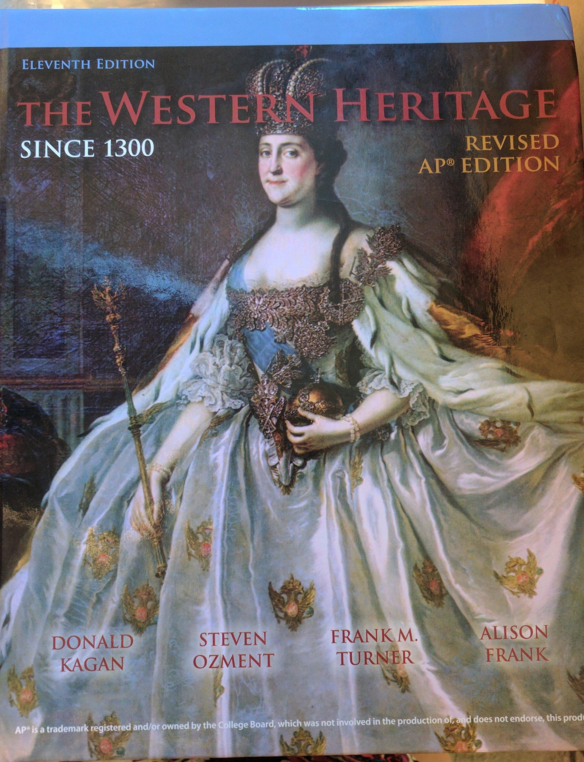 Western Heritage Since 1300 Kagan 9780134050225 Amazoncom Books
