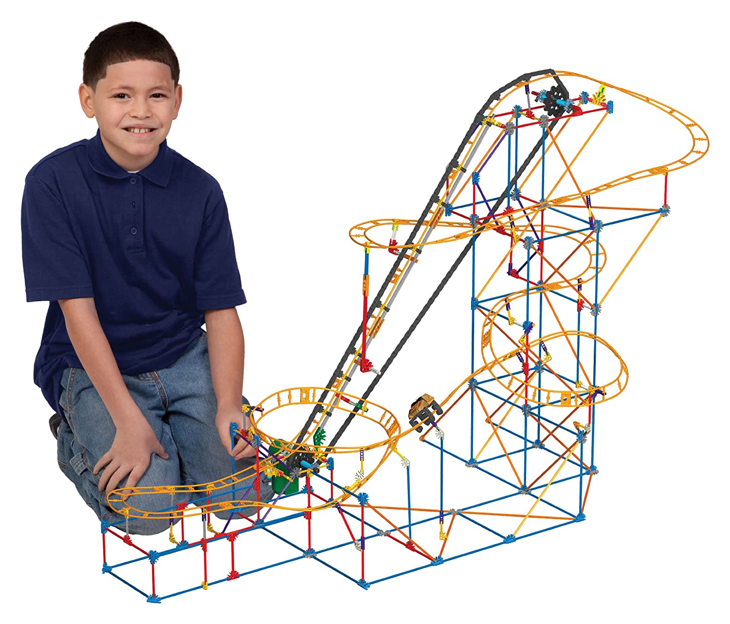 Amazon K NEX Thrill Rides Phoenix Fury Roller Coaster