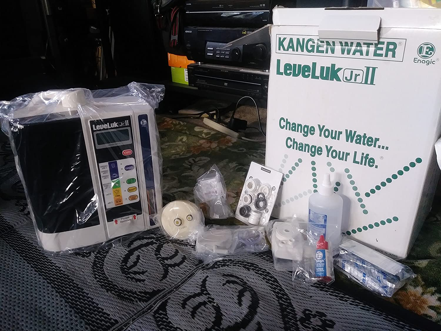 Cleaning powder for 3 cleaning.ORIGINAL KANGEN ENAGIC Alkaline Water LEVELUK