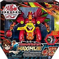 Spin Master- Bakugan-Dragonoid Maximus Juguete, Color naranja, rojo (Concentra 6051243)