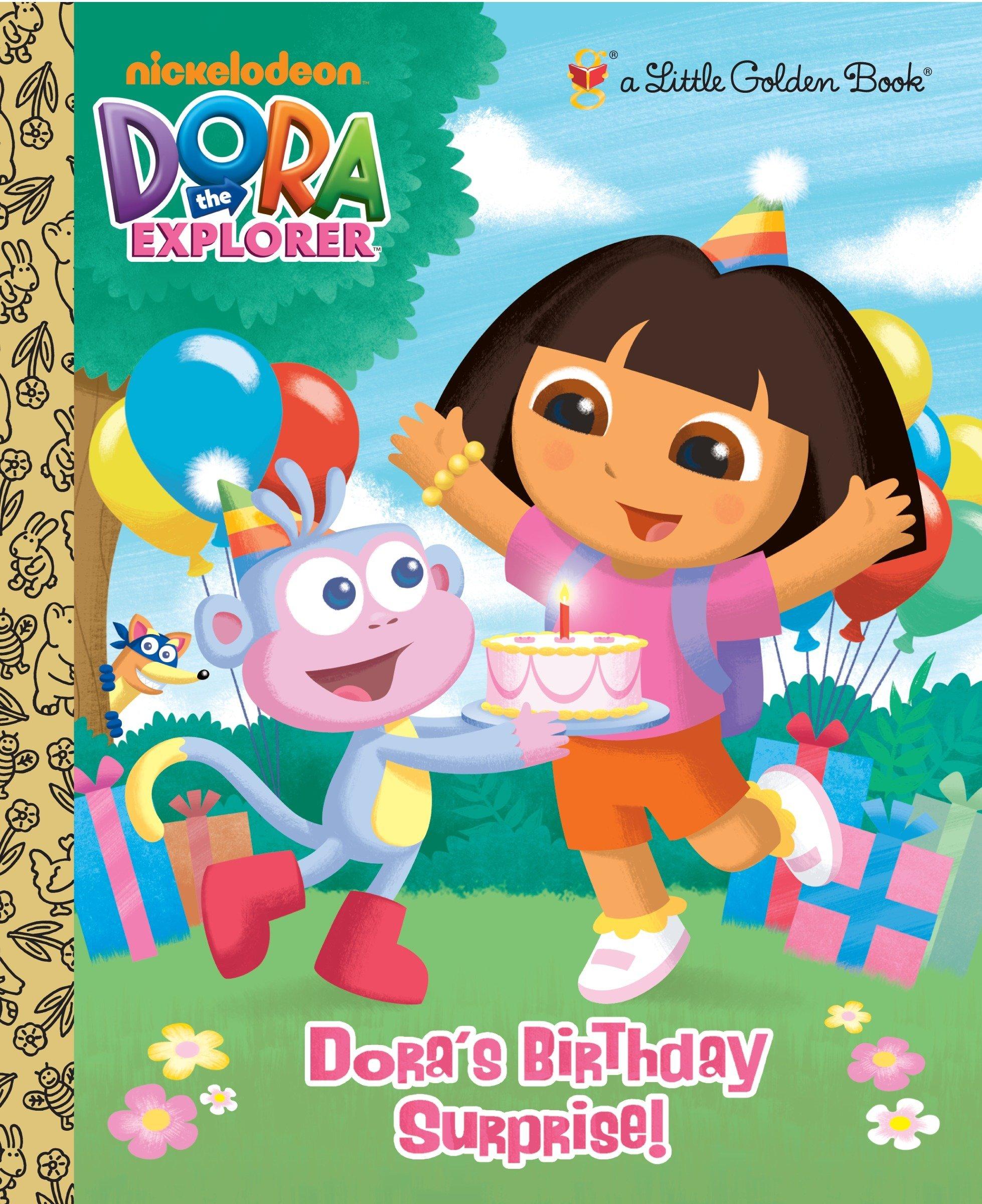 Download Dora's Birthday Surprise! (Dora the Explorer) (Little Golden Book) pdf epub