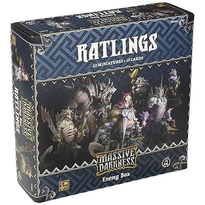 CMON Massive Darkness: Ratlings: Toys & Games