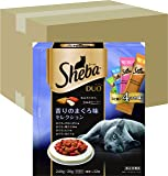 シーバ (Sheba) デュオ 成猫用 香りのまぐろ味セレクション 240g(20g×12袋入り)×12個 (ケース販売) [キャットフード・ドライ]