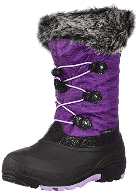 bf423f832a12 Image Unavailable. Image not available for. Color  Kamik Powdery 2 Boot  Little Girls Grape