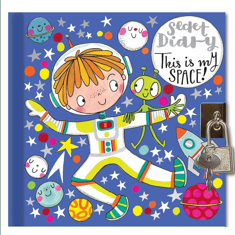 Secret Diary Spaceman - Agenda secreta con cerradura para ...