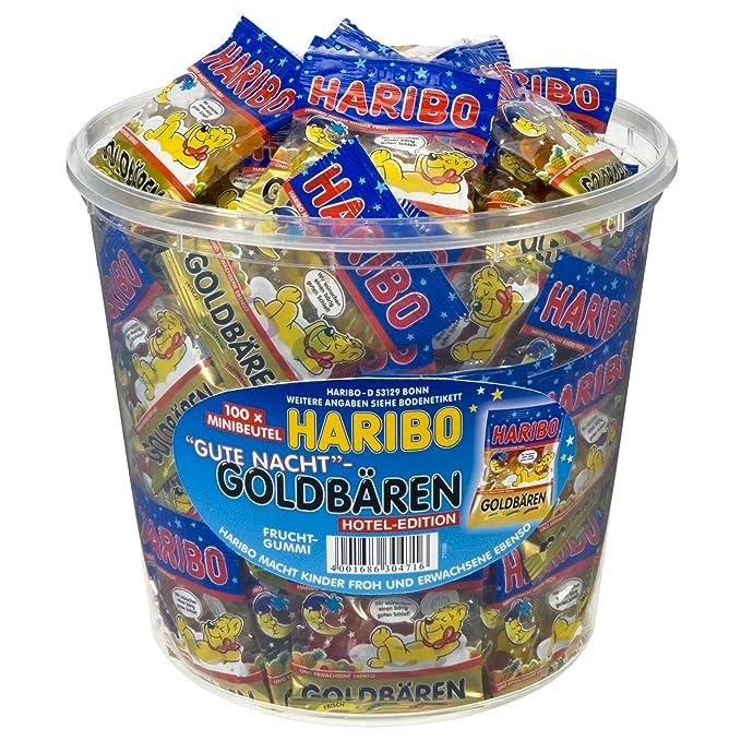 Haribo 100 Mini Bolsa Buena Noche Oro Osos