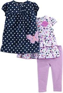 a0ee3fa66c10 Amazon.com: Simple Joys by Carter's Baby and Toddler Girls' 2-Pack ...