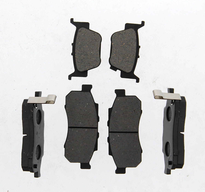 3 Sets Of Semi-Metallic Front /& Rear Brake Pads For Honda Pioneer 700 2014-2017