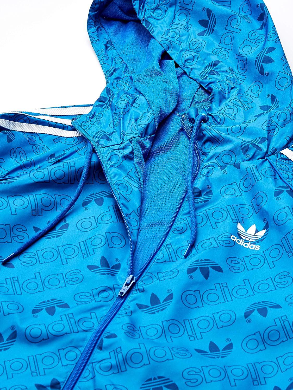 adidas Originals Men's Mono Track Top Jacket at  Men's Clothing store