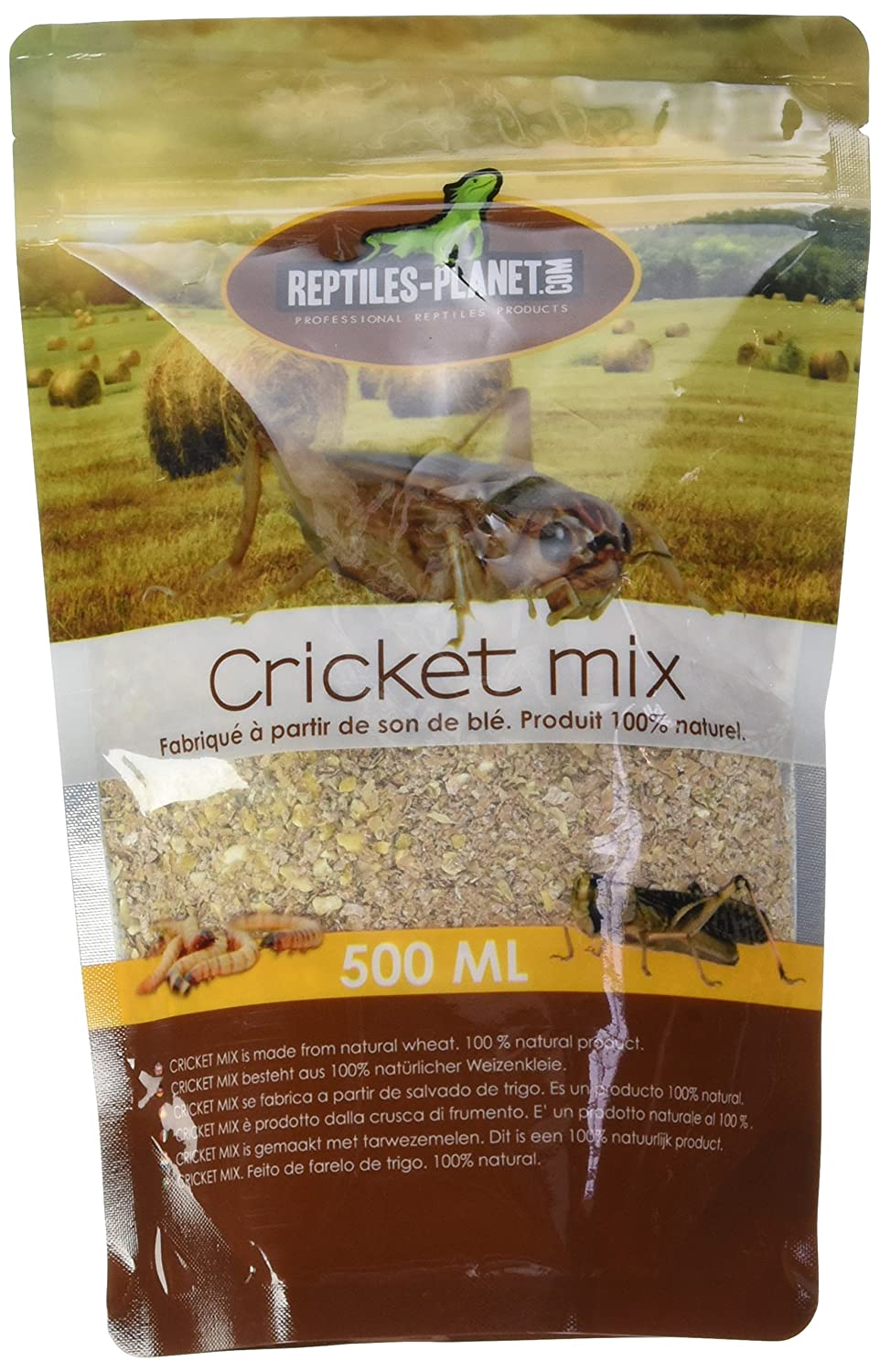 REPTILES PLANET Nourriture pour grillons Cricket Mix 500 ml - REPU5