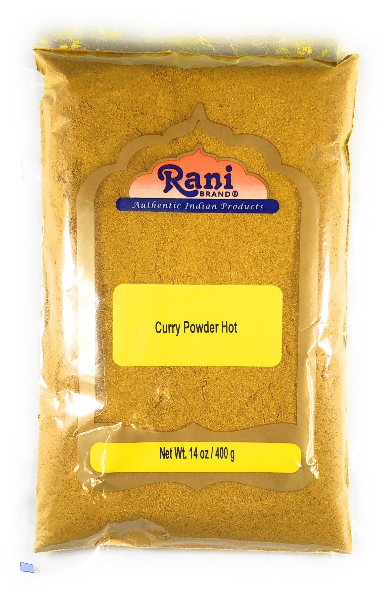 Rani Curry Powder Hot Natural Spice Blend 400g (14oz) Salt Free Gluten Free