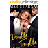 Double Trouble: A Menage Romance (Double the Fun Book 1)