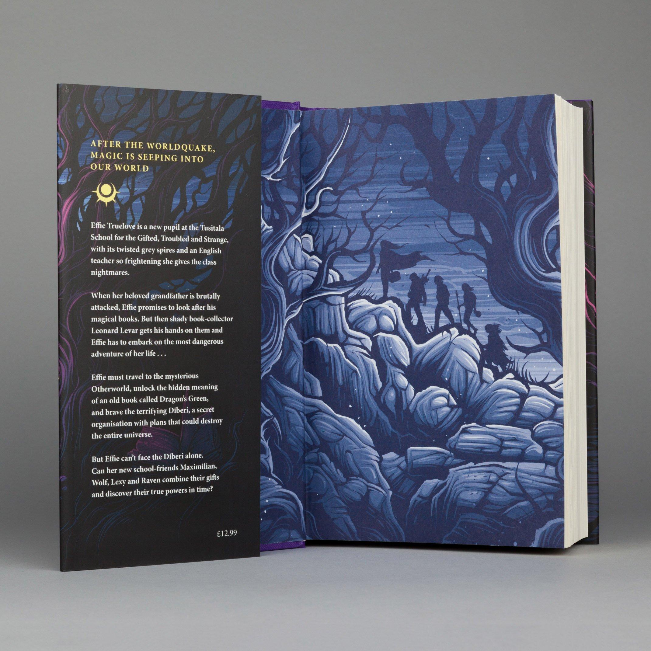 Dragon S Green Worldquake Book One Hardcover Scarlett Thomas