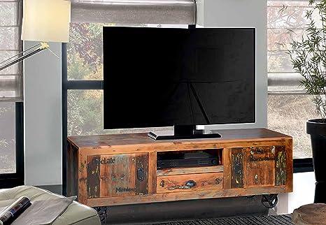 Mobili In Legno Riciclato Vendita : Mobile tv legno riciclato amazon elettronica