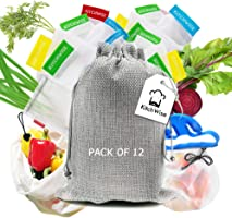 Kitchwise® Reusable Grocery Produce Bags Set of 12
