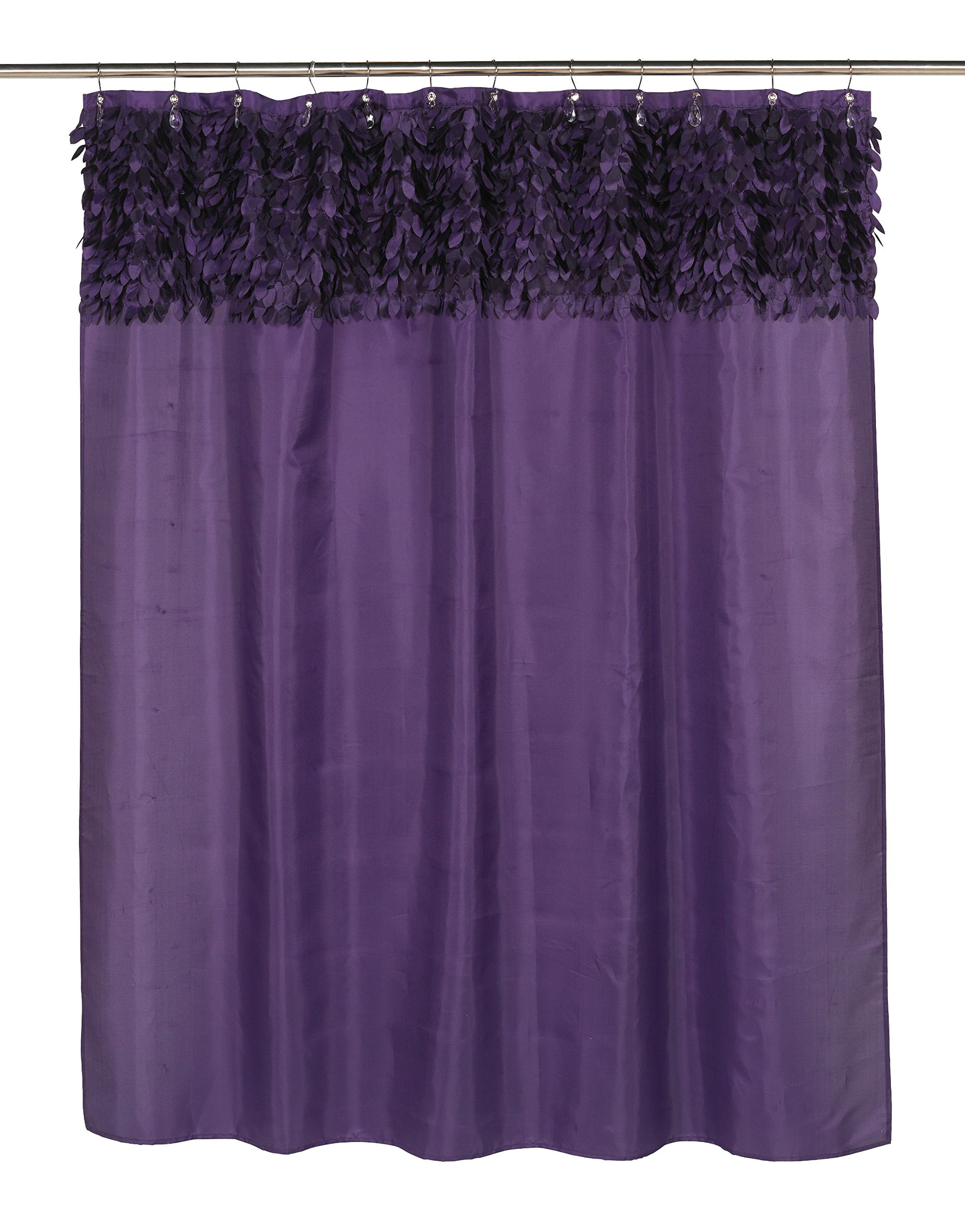 Royal Bath Latin Fever Dance Party Fabric Shower Curtain 70'' x 72'' (Purple)