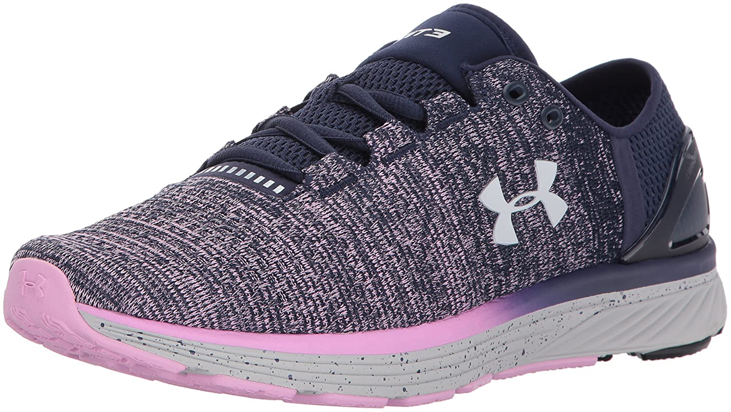 Under Armour UA W Charged Bandit 3, Zapatillas de Running para Mujer 36.5 EU|Azul (Midnight Navy)