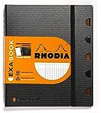 Rhodia Exabook 132571C Cahier Organisation Spirale A5+ 160 Pages Séyès avec Cadre en-Tête