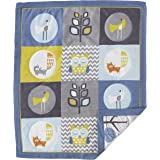 Lolli Living Woods Baby Quilt - Colorful, Modern Quilted Comforter In 100% Cotton, Use As Bedding Or Decorative Wall Hanging, A Beautiful Addition To Nursery.