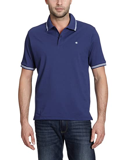 Champion Polo - Polo para Hombre, tamaño XXL, Color Azul: Amazon ...