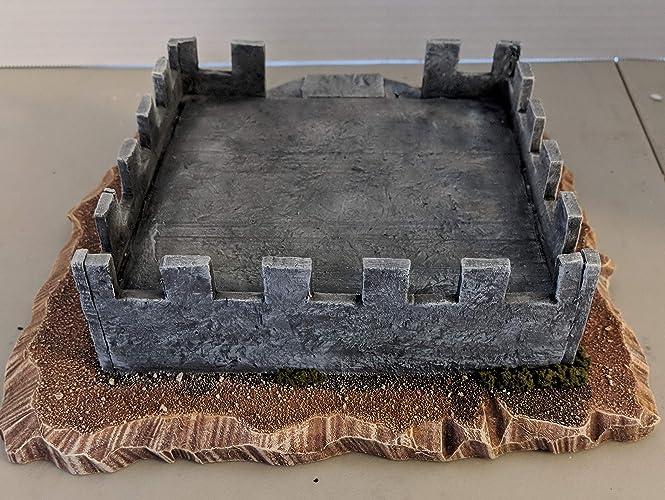 Amazon com: Medium Size Desert Bunker, Wargame Terrain 2