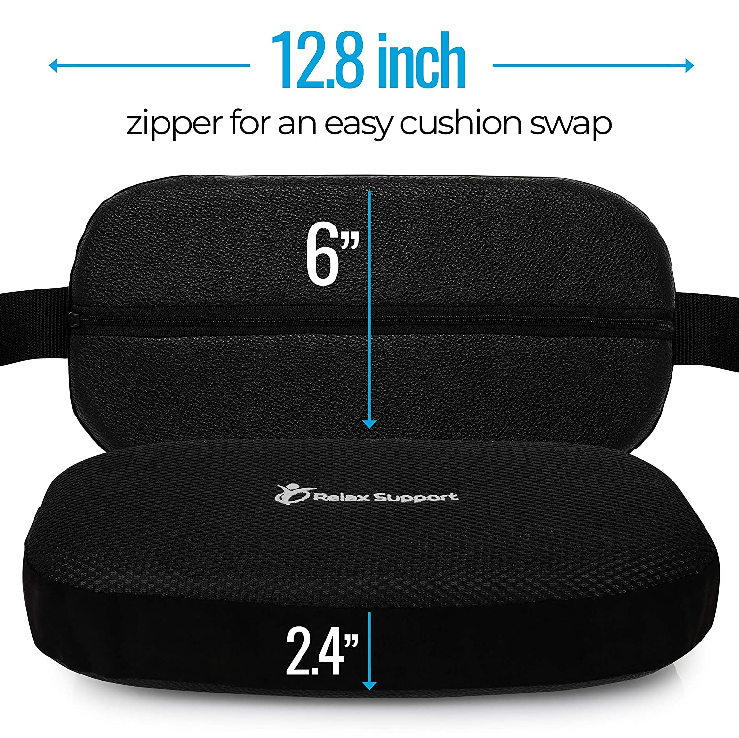 Amazon.com: Back Support Pillow RS5 - Lumbar Support Cushion ...
