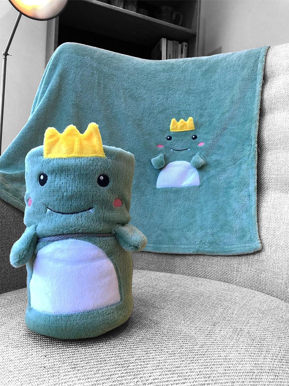 Manta de bebé de felpa con forro polar, suave, acogedora y cálida, envuelta en regalo, 4 estilos, 80 x 100 cm, para baby shower, nueva mamá, papá, niños, recién nacidos (Dinosaurio)