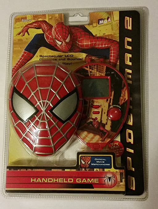 Amazon.com: Spiderman 2 Electronic Handheld LCD Game: Toys & Games