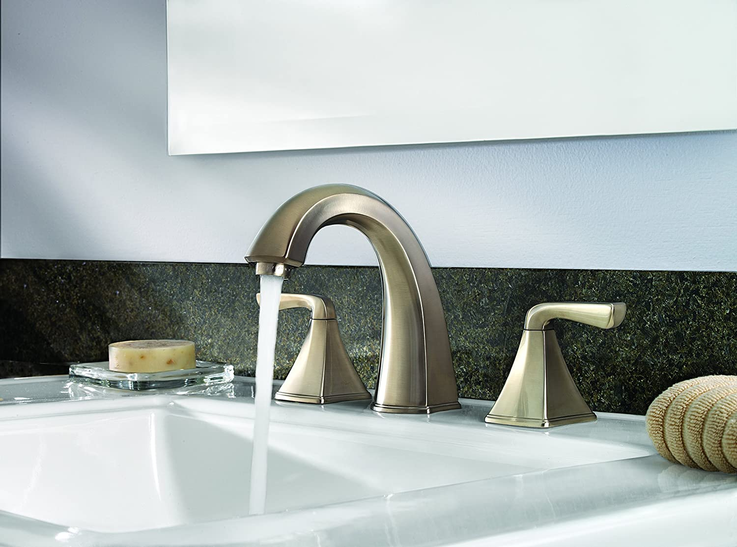 Price Pfister F049SLKK Selia Widespread Bathroom Sink Faucet ...