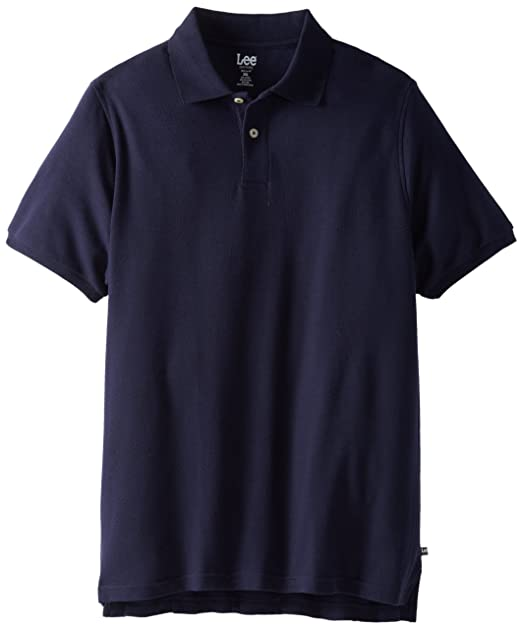 7fdcbed74e Lee Uniforms Men's Modern Fit Short Sleeve Polo Shirt