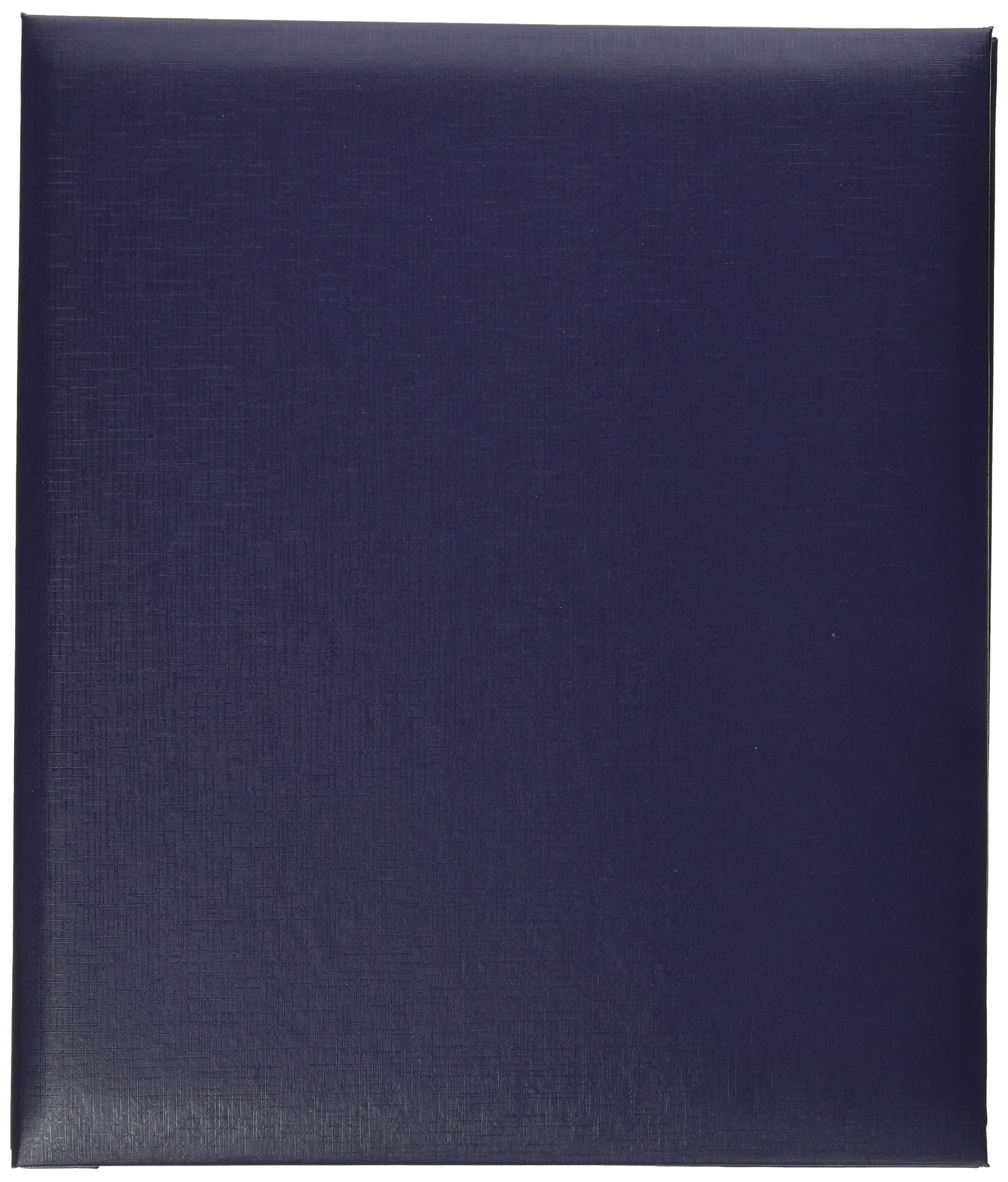 Pioneer Leatherette Post Bound Album, 8.5 by 11-Inch, Bay Blue