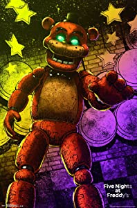 """Trends International Five Nights At Freddy's Classic Freddy Wall Poster 22.375"""" x 34"""""""