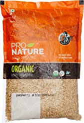 Pro Nature Organic Brown Basmati Rice. 1kg