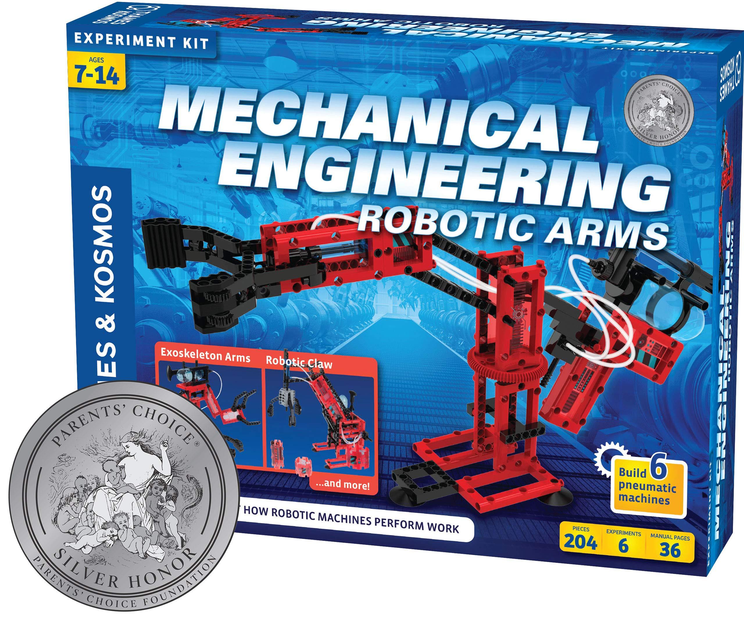 Thames & Kosmos Mechanical Engineering Robotic Arms by Thames & Kosmos