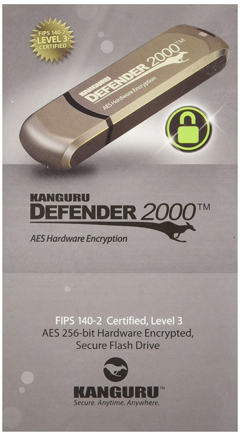 Amazon kanguru 8gb defender 2000 secure usb 20 fips 140 2 amazon kanguru 8gb defender 2000 secure usb 20 fips 140 2 encrypted flash drive kdf2000 8g computers accessories 1betcityfo Image collections