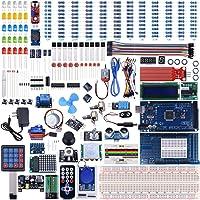 UNIROI Arduino Mega2560 Kit de Démarrage Super Guide d'Utilisation Français Débutants Professionnels DIY (UA003-DE)