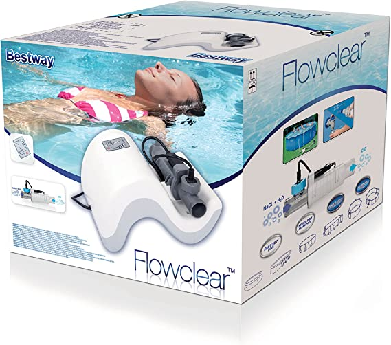 Clorador Salino Bestway Flowclear Chlorinator: Amazon.es: Deportes ...