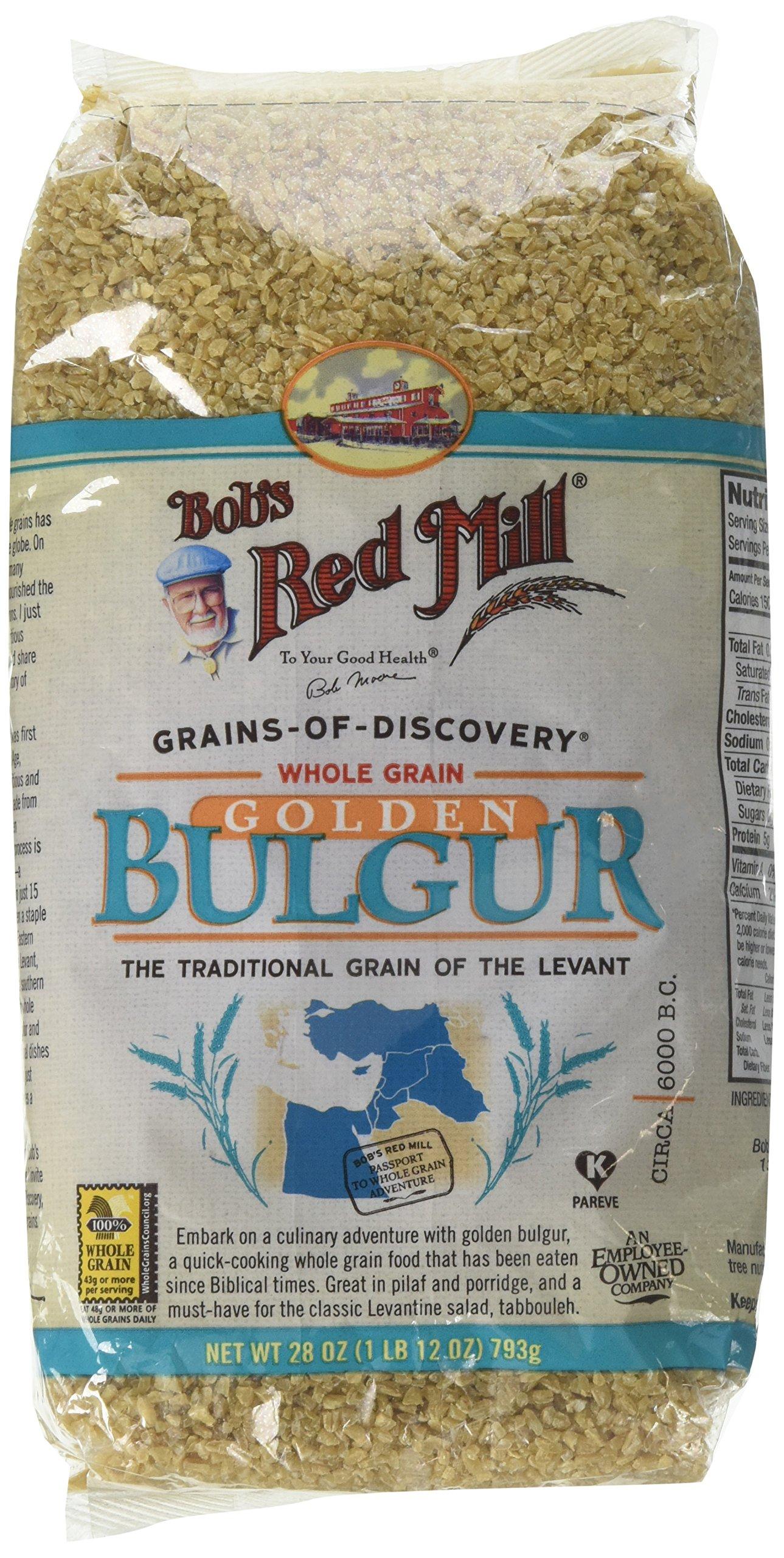 Bob's Red Mill Bulgur Soft Wheat Ala - 28 oz