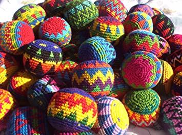 penny lane brand hacky sack imported from guatamala set of 3