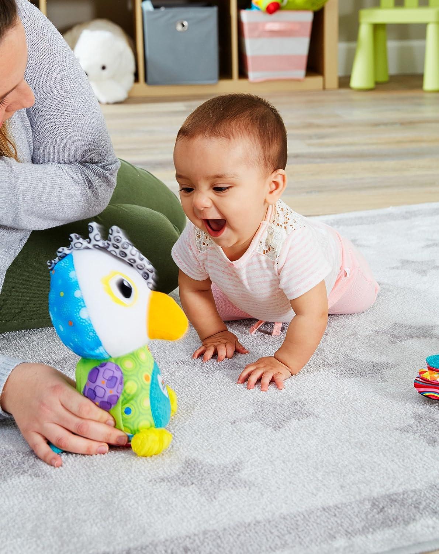 Babyspielzeug f/ür eine starke Eltern-Kind-Bindung mit Lerneffekt Ab 6 Monaten und Wiedergabefunktion Lamaze Plauder Pepe Motorikspielzeug mit Aufnahme