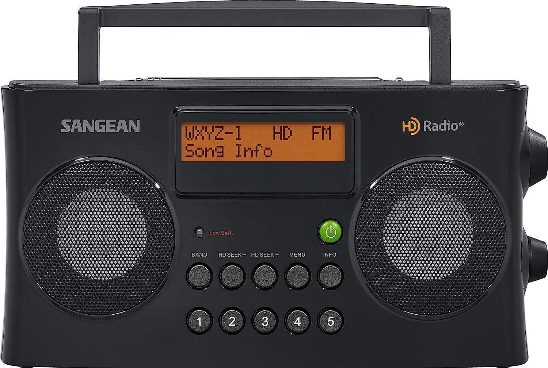 Sangean HDR-16 HD Radio/FM-Stereo/AM Portable Radio: Home Audio & Theater